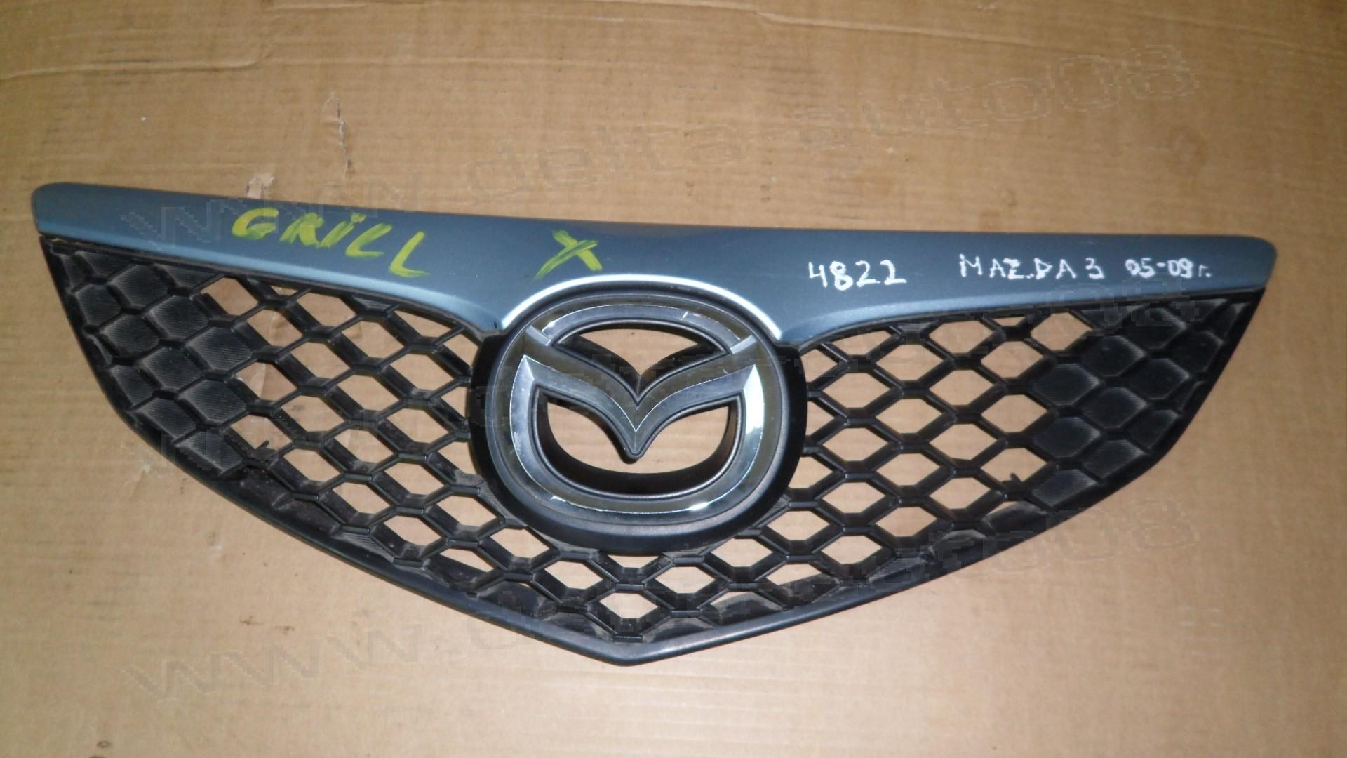 Предна решетка, грил за Mazda 3  2005-2009г., BR5S 50 711, BR5S50711