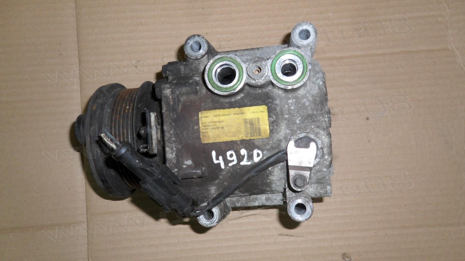 Климатичен компресор за Jaguar S-Type 2.7D  2006г., YR8H-19D629-AB, YR8H19D629AB, YR8H 19D629 AB