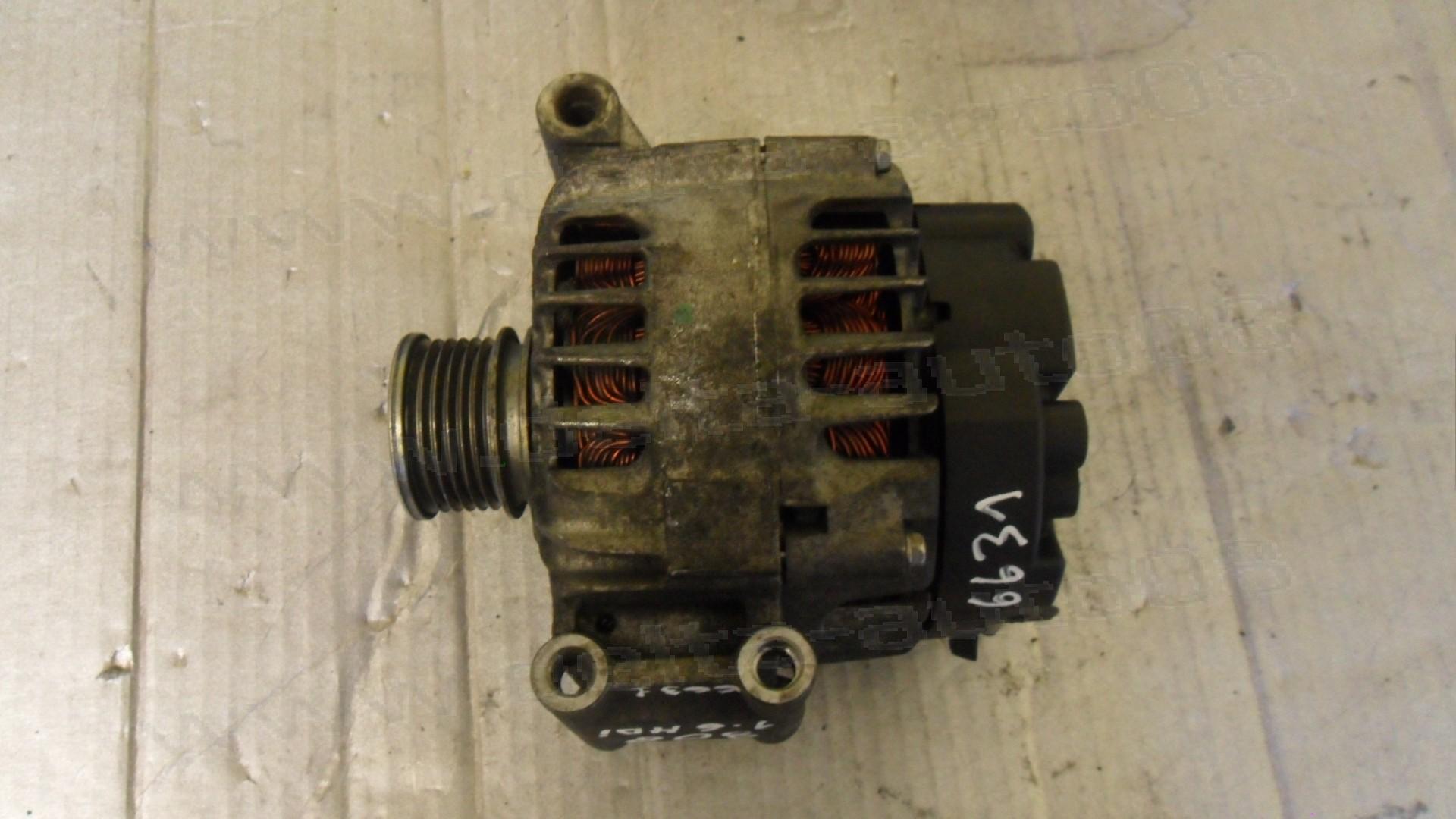 Алтернатор, генератор за Peugeot 308, Mini Clibman, 1.6 HDI, 2007-2015г., V 7576513 80-01, V75765138001, V757651380-01, 2605106A