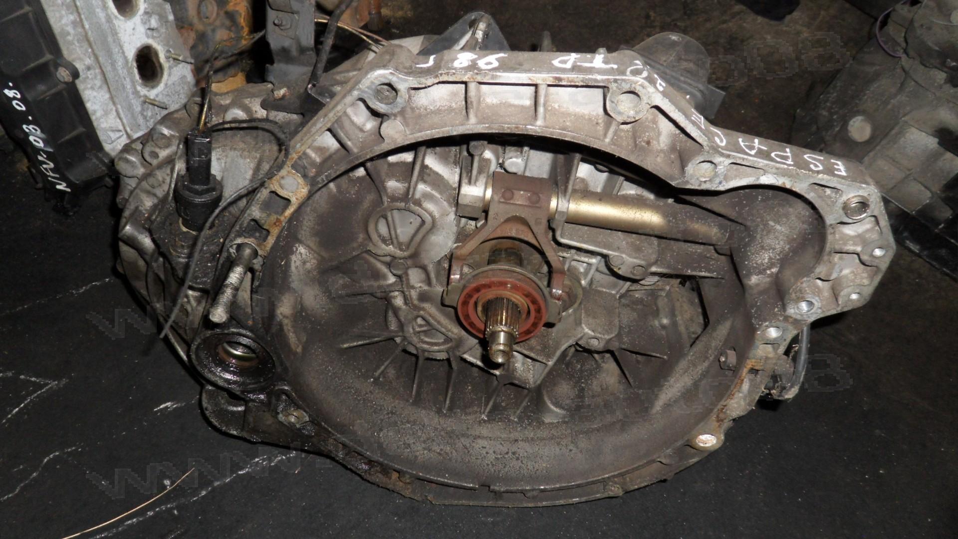 Ръчна скоростна кутия за Renault Espace III, 2.2 TD, 1997-2003г., 7700869862, 27590 PKCM 7700869862, 275907700869862  - 5 степенна