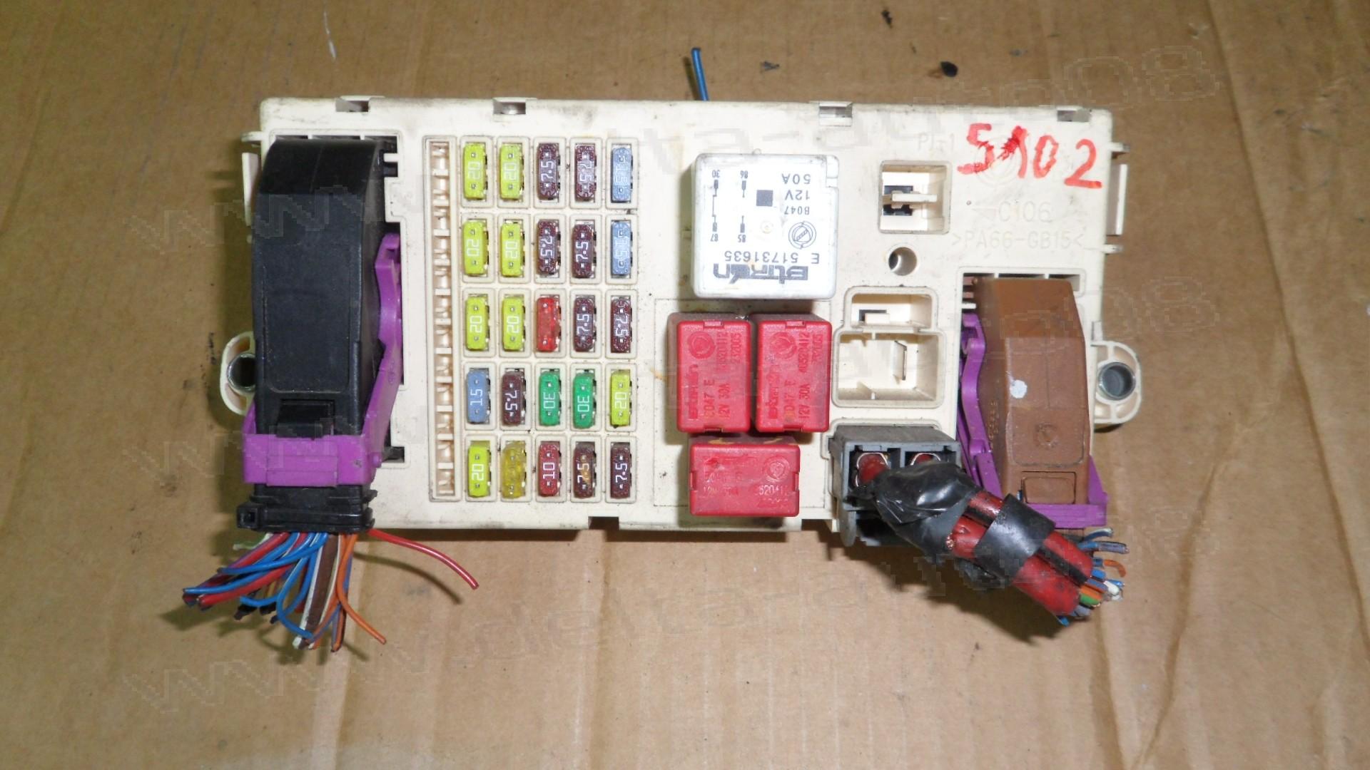 BSI модул, кутия предпазители за Fiat Stilo, Doblo 1.9 JTD  51758251