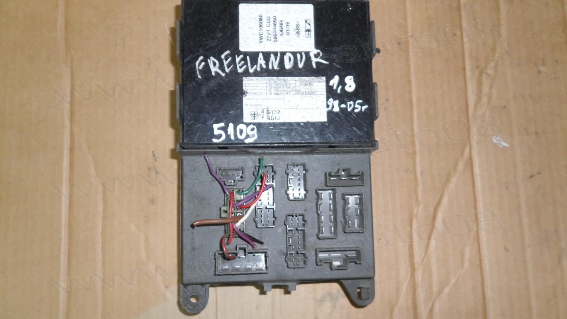 Бушонно табло, модул за Land Rover Freelander 1.8, 1998-2005г., V23081-C1061-X 3, V23081C1061X3, V23081 C1061 X3, YWC106080, 52010469D