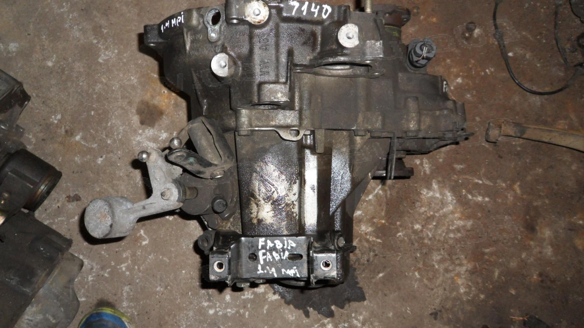 Ръчна скоростна кутия за Skoda Fabia, 1.4 MPI, 8V, 1999-2008г., 002 301 107 T, 002301107T - 5 скорости