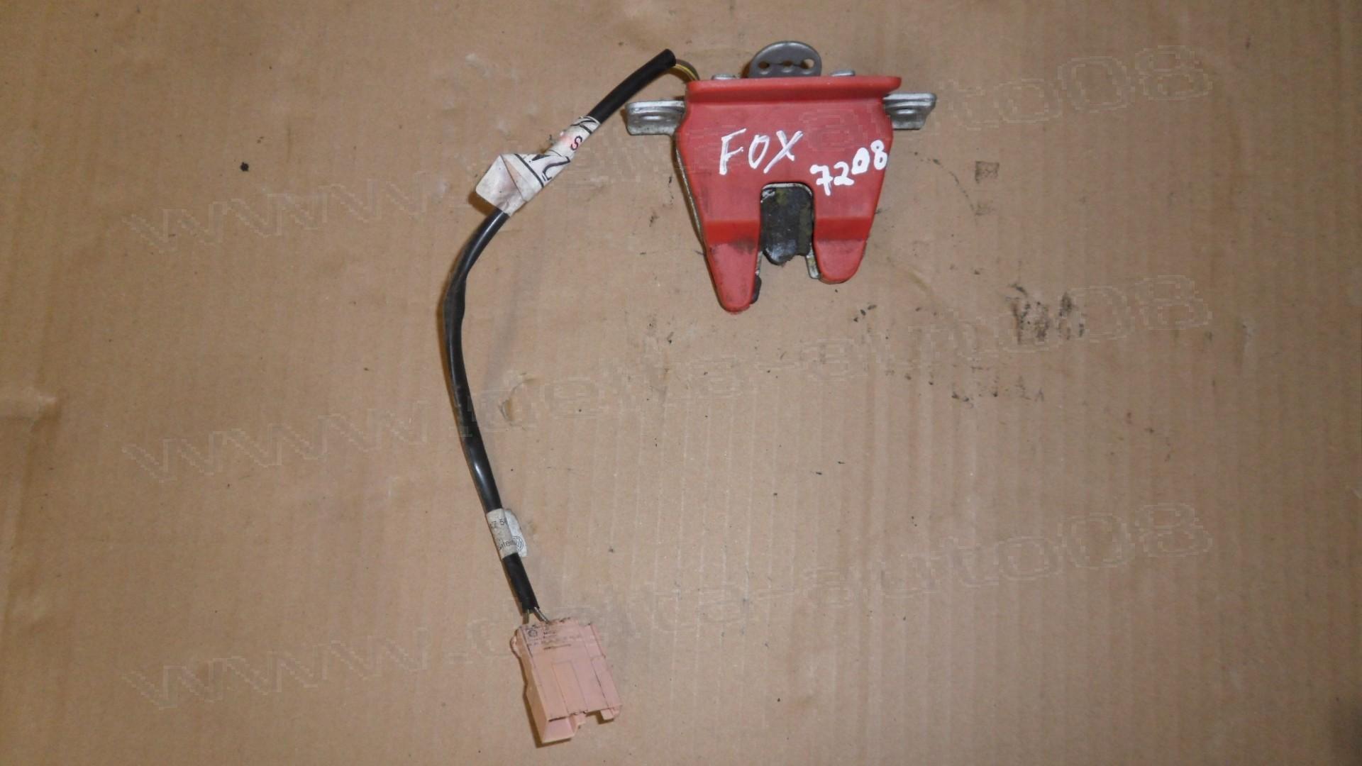 Брава заден капак за VW Fox, 2003-2011г., 5Z1, 5Z2, 5Z4, хечбек, 5Z6 827 505, 5Z6827505