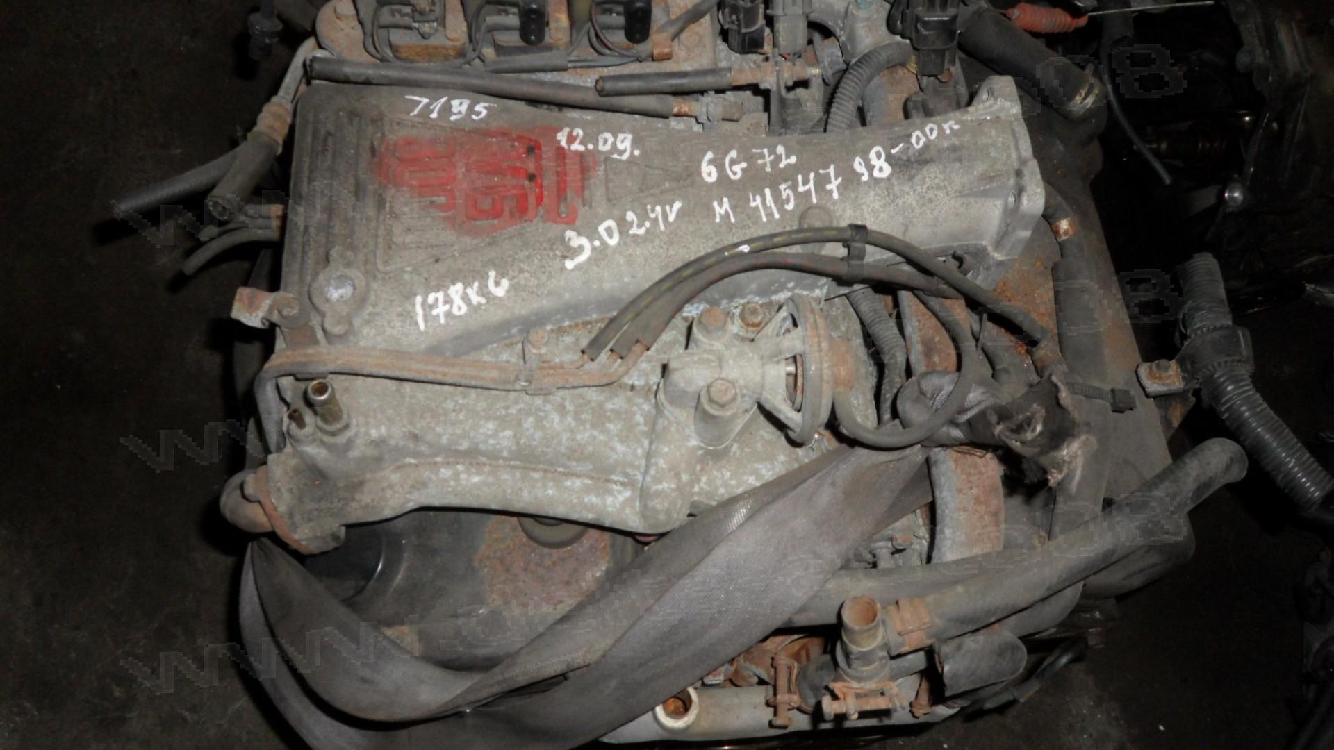 Двигател за Mitsubishi Pajero, Shogun, 3.0I, 24V, 177к.с., 1998-2000г., 6G72