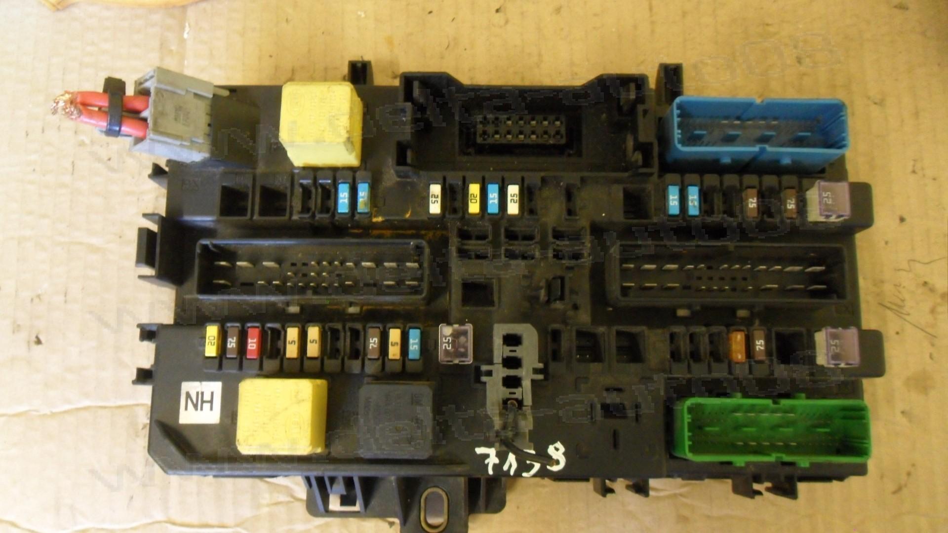 Бушонно табло за Opel Astra H, Zafira B, 2004-2014г., 13 220 829, 13220829, 5DK 008 669-43, 5DK008669-43, 5DK00866943