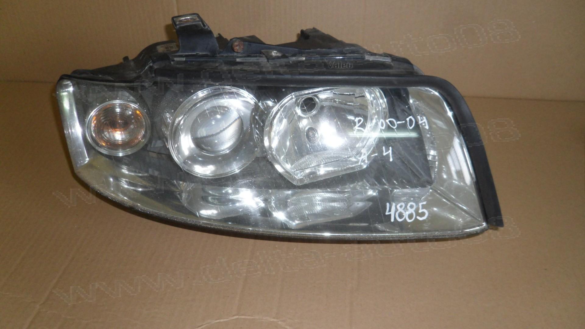 Фар за Audi A4, B6 - 2000-2004г. - десен - 8E0 941 004 G, 8E0941004G, 89305720