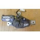 Мотор задна чистачка за Nissan Micra II, 1998 - 2002г., SWMP 403784, SWMP403784, 28710-5F100, 28710 5F100, 287105F100