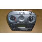Радио, CD плейър, управление климатик за Jaguar X-Type 2003-2007г., 4X43-18B876-AC, 4X4318B876AC, 4X43 18B876 AC, 1X4H19980DD