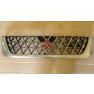 Решетка радиатор за Mitsubishi L200, 2000-2006г.,  MR523853, MR523854, Със забележки